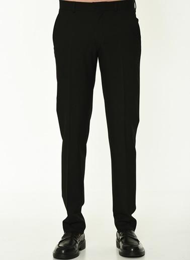 George Hogg Erkek 7004784 Slim Fit Pantolon Siyah